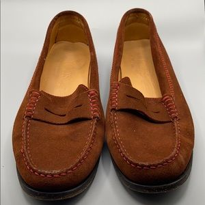 Tod's Driving slip on Loafers Brown Suede size 8